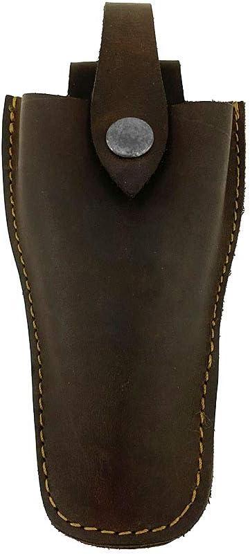 Hide & Drink, Thick Leather Gardening Scissors Holster/Pruner Sheath/Gardening Tool Case/Pruning Shear/Scissors Case, Handmade :: Bourbon Brown