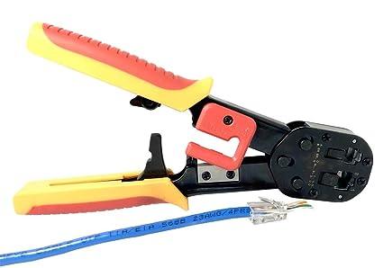 RJ45 RJ11 Network phone RJ12 Ethernet Cat6 5e end Crimp//Crimper//Crimping Tool
