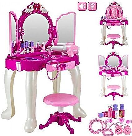 Amazon.com: Las niñas Glamour Espejo Maquillaje cambiador ...