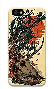 Cool Abstract Painting Chaos Custom Slim 3D Case for iphone 5/iphone 5s