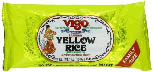 Vigo Saffron (Vigo Saffron Yellow Rice, 16 Ounce (Pack of 12))