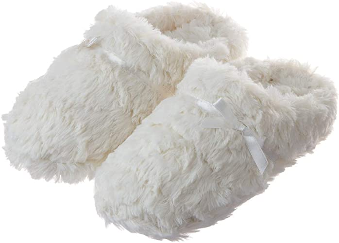 Tofern Slippers Second Skin Ultra Soft Comfy Fluffy Warm Satin Memory Foam Non S