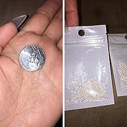 New 1440Pcs Mini Diamond Shining DIY Rhinestones Crystal Rhinestones Need Glue Phone & Nail Art Decoration (AB Clear)