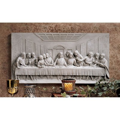 Wall Frieze (Design Toscano The Last Supper Wall Frieze)