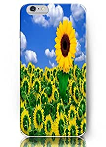 Popular Designed 5.5'' IPhone 6 + Protect Case - Sunflower series - Reversed Direction BY ATICASE
