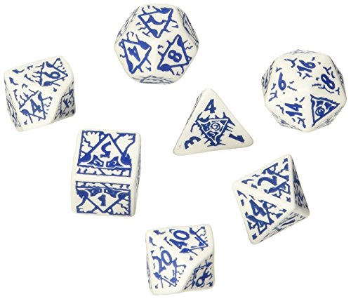 Sale!! Q-Workshop Pathfinder Reign of Winter Dice Set (7) Board Games