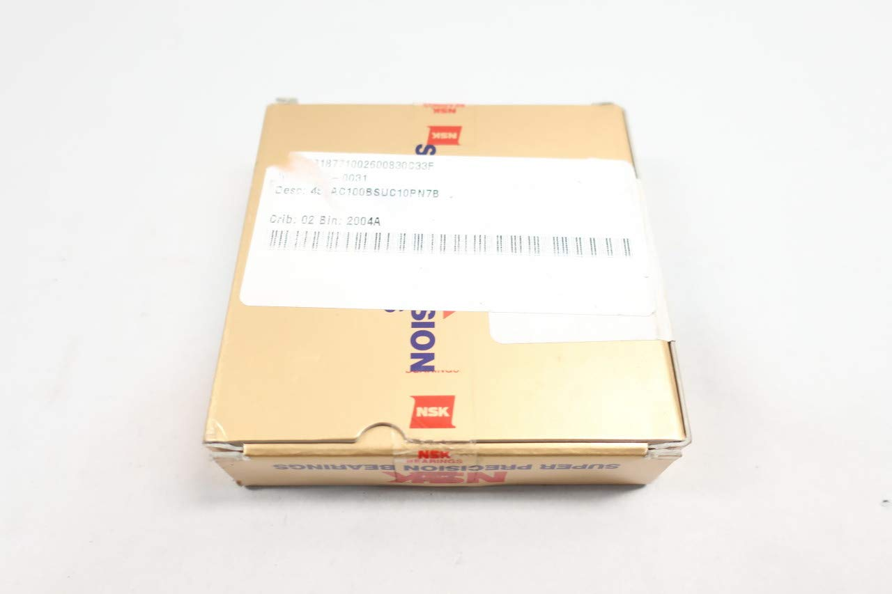 NSK 45TAC100BSUC10PN7B Ball Screw Support Bearing 45MM 100MM 20MM
