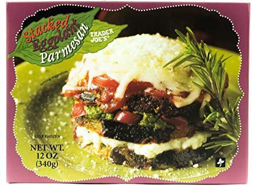Trader Joe's Stacked Eggplant Parmesan (6 Pack) (Best Frozen Eggplant Parmesan)