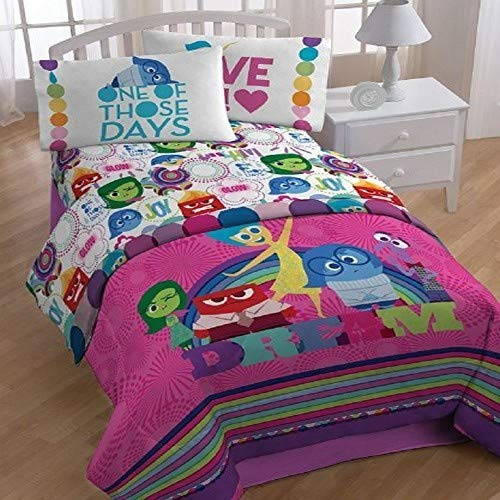 Disney/Pixar Inside Out Dream 64 '' x 86'' Reversible Twin Reversible Comforter