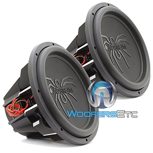 "T5.152 - PAIR Soundstream 15"" 1300W RMS Dual 2-Ohm T5 Series Subwoofer"