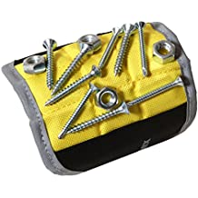 Magnelex Best Magnetic Wristband for Holding Tools, Screws, Nails, Bolts, Drilling Bits. One of The Best Gifts For Men, Dad, Husband, Friends, Family. Unique Gift Idea.