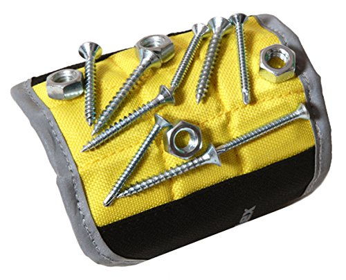 Magnelex Magnetic Wristband for Holding Tools, Screws, Nails, Bolts, Drilling...