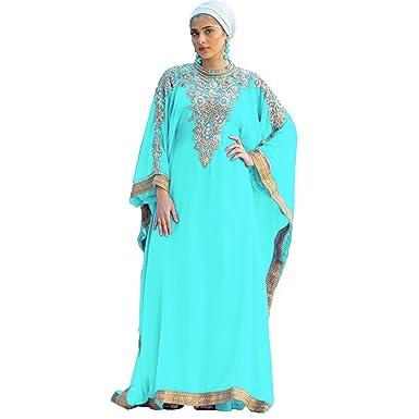 Royal Bliss Kaftan For Women Long Sleeve Maxi Dress Gown Formal