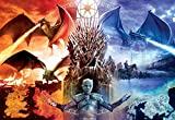 Buffalo Games - Game of Thrones - Fire & Ice - 2000Piece Jigsaw Puzzle