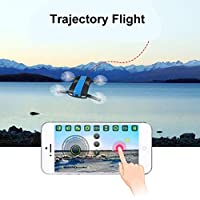 Gbell RC Quadcopter Helicopter Drone UAV Selfie Foldable 2.4G 6-Axis Altitude Hold HD Camera WIFI FPV for Kids,Adults