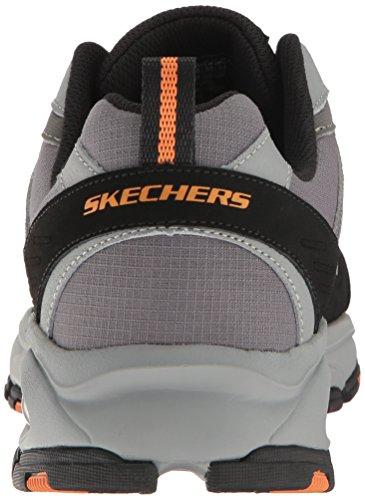 Skechers Sport Vigor Air Oxford, Carbone / Grigio