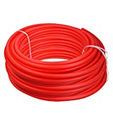 Pexflow PFR-R121000 Oxygen Barrier PEX Tubing for Hydronic Radiant Floor Heating Systems, 1/2 Inch x 1000 Feet, Red