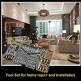205 Piece Mechanics Tool Set, Socket Wrench Auto