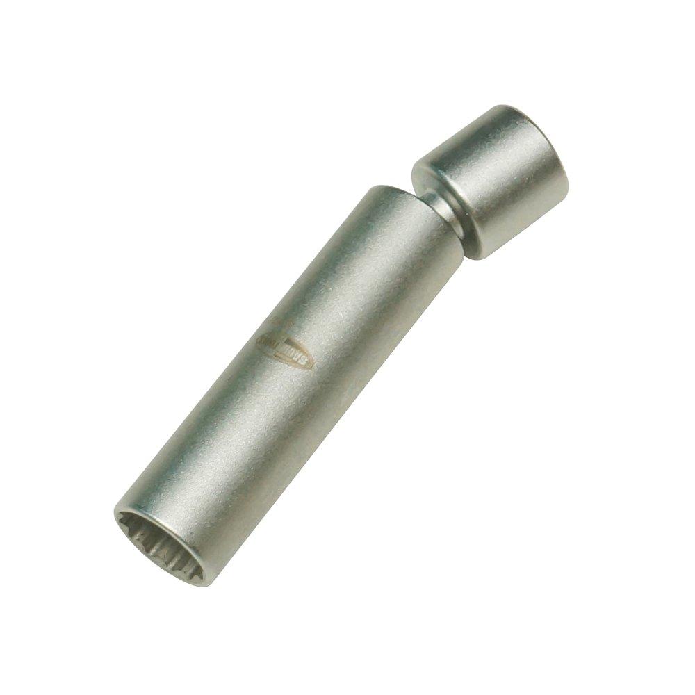 Baum Tools B121220 BMW and Mini 12 Point 14mm Swivel Spark Plug Socket (Swivel 14mm)