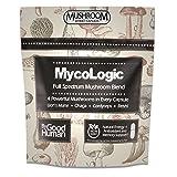 MycoLogic - Full Spectrum Organic Mushroom Supplement, 90 Capsules   Chaga, Reishi, Lion's Mane, Cordyceps Mushroom Blend
