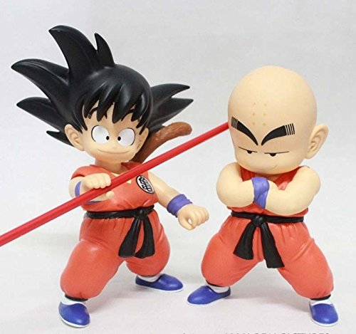 Dragon Ball Z Shoes For Sale (NEW Anime PVC Figures DRAGON BALL Z Son Goku Kuririn Krillin Action Figure Toys 2pcs)