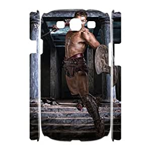 GTROCG Spartacus Liam McIntyre Phone 3D Case For Samsung Galaxy S3 I9300 [Pattern-5]