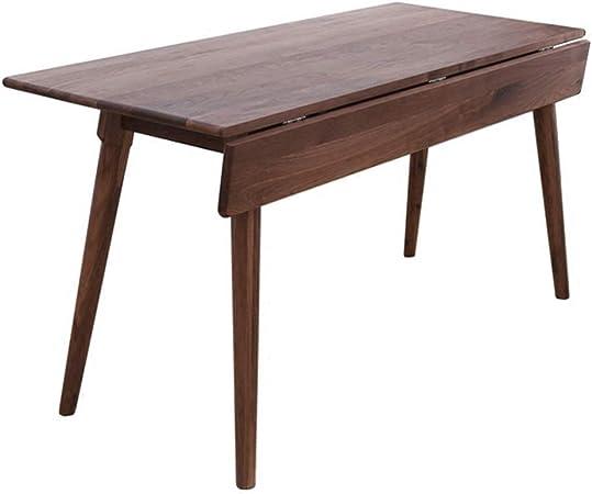 Exclvea Table De Cuisine Moderne Et Elegante Table Pliante En Bois