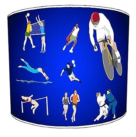 30,5cm Abats-Jour Premier Lighting 20,3cm Table pour Enfant Athletics Lampshades7 Cuisine & Maison