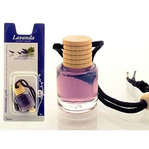 Desodorisant Voiture Flacon Parfum Ambiance Senteur Lavande 8ml
