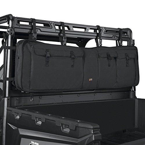 Classic Accessories 18-129-010401-00 Black QuadGear UTV Double Gun Carrier (For Most UTV Roll Cages)