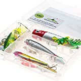 Fishing Lures Set of 12 Bass Fishing Lures Seasonal Promotion Striped Bass Walleye Trout Crappie Muskie Pike Salmon Freshwater Saltwater Deep Water Cheap Prices Wholesale Fishing Lures in Tackle Box