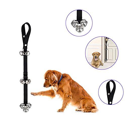 ChooseU Nylon Adjustable lengths Dog Doorbells For Dog Training And Housebreaking All Door Handles
