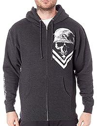 Men's Zip Fleece Hooded Sweatshirt