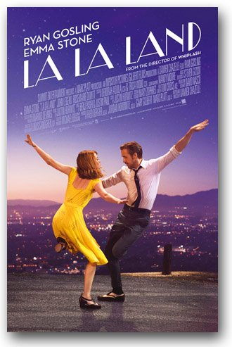 La La Land Poster - Movie Promo Flyer 11 x 17 LaLa Musical Sunrise