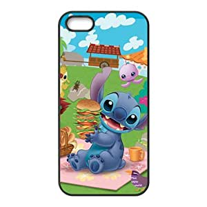 SANLSI Lilo & Stitch Case Cover For iPhone 5S Case