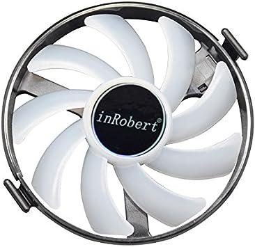 Amazon.com: inrobert duro Swap Fans GPU VGA LED ventilador ...