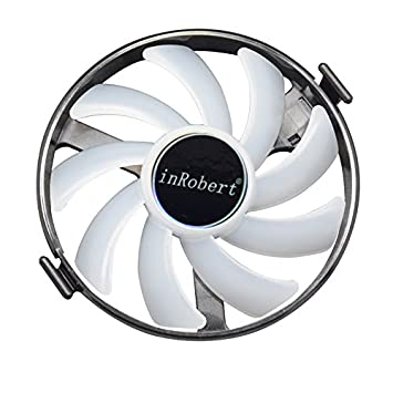 Amazon.com: inrobert duro Swap Fans GPU VGA LED ventilador ...