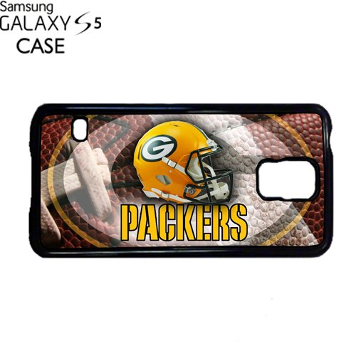 Packers Samsung Galaxy S5 PLASTIC cell phone Case / Cover Great Gift Idea Green Bay Football