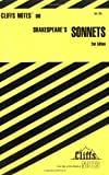 img - for CliffsNotes on Shakespeare's Sonnets (Cliffsnotes Literature Guides) book / textbook / text book