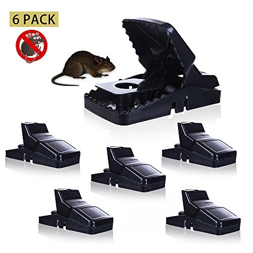 Mouse Trap Mice Traps Vole Catcher Snap Humane Power Rodent Rat Killer The Best Control Better and Safer Than Glue & Poison No More Mices Sensitive Reusable and Durable by - Trap Force Chaos