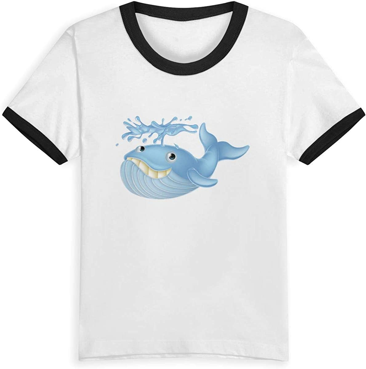 Queen Elena - Camiseta de Dibujo Animado para niño 2-6Y Summer Infant Niños, Niños, Niños, Niños, Niños, Chicas Moda Ropa De Algodón Contraste Color Negro 5-6 años: Amazon.es: Ropa y accesorios