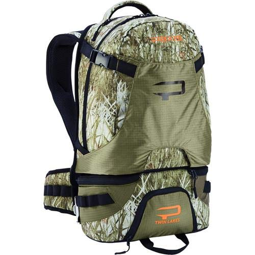 Paxis High-Tech Ergonomic Fishing and Photography Backpack - Long Range Grass Camo - Capacity: 30 Liters by Paxis