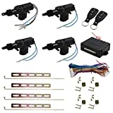 uxcell® Car Central Locking System Keyless Entry System with 4 Power Door Lock Actuator Kit