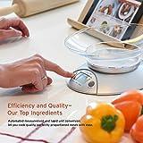 Etekcity Food Kitchen Scale Bowl, Digital Ounces