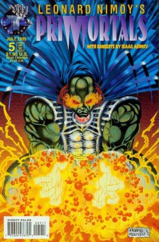 Leonard Nimoy's PriMortals #4 (Tekno Comics) (Tv Tekno)