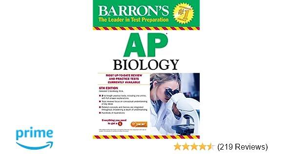 Amazon com: Barron's AP Biology (9781438008684): Deborah T
