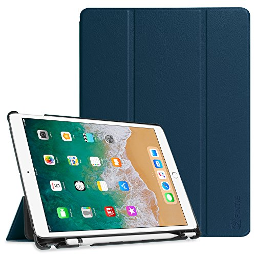 - Fintie Case with Built-in Apple Pencil Holder for iPad Air 10.5