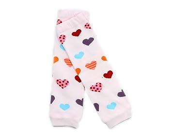 Girls Boys Newborn Toddler High long Socks Cotton Leggings BONAMART 4 Pairs Baby Leg Warmers