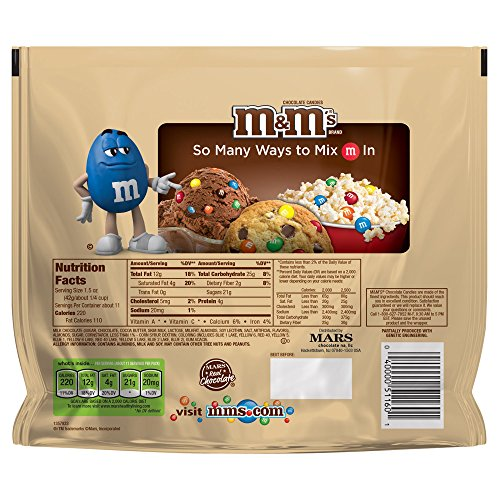 M&M'S Almond Chocolate Candy Family Size 15.9-Ounce Bag (Pack of 8) by M&M'S (Image #5)