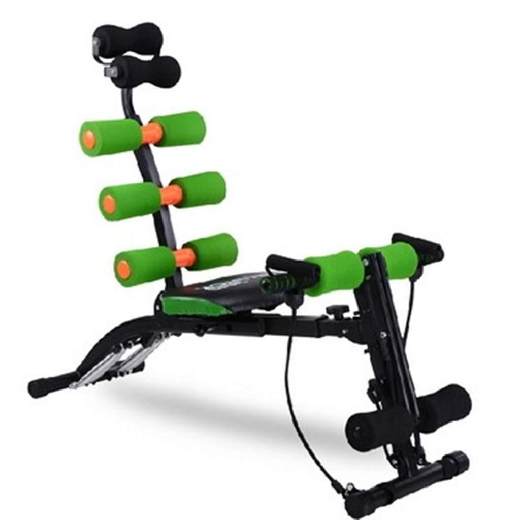 腹筋器具 腹部訓練練習腹部の家族トレーナーウエストエクササイズフィットネス機器 (Color : Green, Size : 122*48*83cm) 122*48*83cm Green B07JYQYSNM